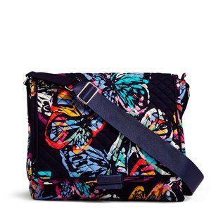 NWT Vera Bradley Signature Iconic Messenger Bag
